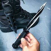 10 M48 Cyclone Dagger Tactical Combat Fixed Blade Knife Bowie Boot Sheath