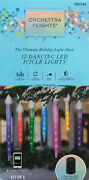 Do Not Buy Before Read 12 Gemmy Orchestra Of Lights Icicle Lights Half Working