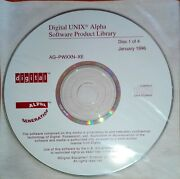 Digital Unix Alpha Software Product Library + Online Documentation Library 1996