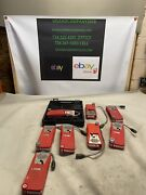 Lot Of 8 Tif8800 Combustible Gas Detector For Parts Or Repair