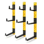 36 In. H X 12 In. D Wall Mount Cantilever Rack/garage Wall Shelf With 9-brackets