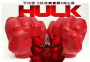 Nib Agents Of S.m.a.s.h. Red Hulk Hands Smash Fists - Toy Gloves