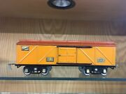 American Flyer Standard Gauge 4008 Boxcar In Early Colors C. 1927 - Ex