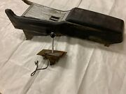 1962-1964 Galaxie Automatic Console, Bracket, Base, Top Plate And Shifter Chrome