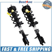 Front Pair Left And Right Complete Strut Assemblies Fit 2001-2012 Ford Escape
