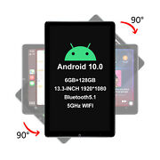 Joying New Tesla Style Android 13.3 Automatic Rotatable Screen Android 10 Radio