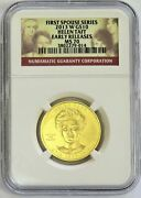 2013 W Gold 10 Helen Taft Spouse 1/2 Oz 1993 Minted Ngc Ms 70 Early Release