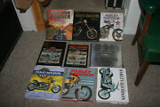 Lot Of 9 Harley Davidson Coffee Table Books