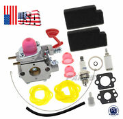 Carburetor Fuel Line Kit For Poulan Chain Saw Vs2000bv W325 Weedeater Blowers