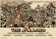 Remember The Alamo By Tyler Stout - Ritz - Rare Sold Out Signed Ap Mondo Print