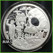 2018 5oz Onward Christian Soldiers Proof Silver Shield Group Trump Prophecy 7