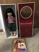 American Girl Ivy Doll Retired Historical Nib Nrfb Julie's Friend Asian Chinese