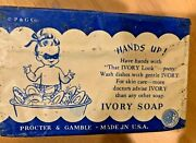 1940's Vintage Ivory Soap Collection - 49 Bars For Just 6 A Bar