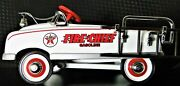 Pedal Car Fire Engine Truck Too Small To Ride On Mini Metal Collector Model