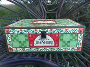 Vintage Large Store Display Jim Shore By Crazy Mountain Folk Art Painted Box