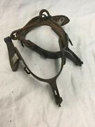 Antique Kelly Spurs With Leathers