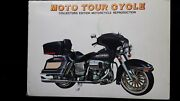 Rare Vintage Moto Tour Cycle Harley Davidson 1/6 Scale Die Cast Model Motorcycle