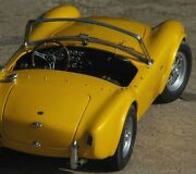 Ford 1964 Shelby Cobra Vintage Sports Car Gt Race Carousel Yellow Gifts For Men