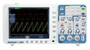 Peaktech P1270 Digital Storage Oscilloscope 300mhz 2 Channels 2.5 Gs/s Dso