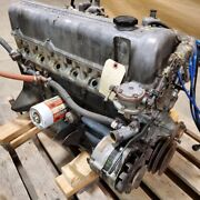 Datsun 240z 2.4l Complete Engine With Dual Su Carbs And N47 Cylinder Head