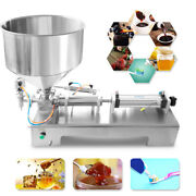 100-1000ml Automatic Paste Filling Machine For Cream Honey Sauce Tooth Cosmetics