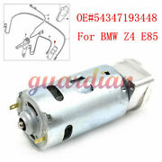Top Hydraulic Roof Pump Motor And Bracket Z4 E85 54347193448 For Bmw Convertible