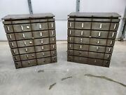 Pair Of T-slotted Angle Plates 30w X 34.5t X 24d T Slot Fixture Plate