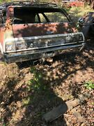 1968 Chevy Caprice Station Wagon Bumper With Brackets