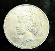 Peace Silver Dollar 1926 D Rare Date Blazing Frosty Luster Nice Looking Unc