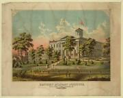 Kentucky Military Institute,ky,american Flag,exterior View,men In Uniform