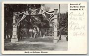 Newport Riflags And Bunting Decorate Bellevue Ave Peace Archc1905 Old Home Week