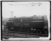 New York Central Lines Railroad,nyc Rr,electric Locomotive,train Tracks,1900