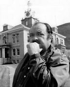 William Conrad As Detective Frank Cannon 1972 Outside Mansion 11x17 Poster