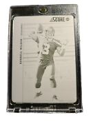2012 Score Russell Wilson 1/1 Rc Rookie Printing Plate