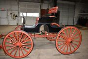 Restored Antique Pony Runabout Horse Drawn Carriage Buggy