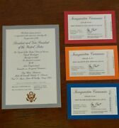 2017 Donald Trump Inauguration Tickets   Collectible