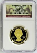 2016 W Gold 10 Proof Spouse Pat Nixon 2,645 Minted 1/2 Oz Coin Ngc Pf 70 Uc Er