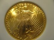 1927 20 St. Gaudens Double Eagle Gold Coin Ngc Ms65