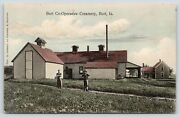 Burt Iowatwo Young Menhomestead And Cooperative Creamerylean-to Shed1908 Pc