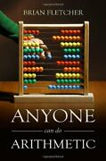 Anyone Can Do Arithmetic By Brian Fletcher Book The Fast Free Shipping