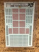 Microscale Decal Ho Scale 87-135 Norfolk Southern Hoods