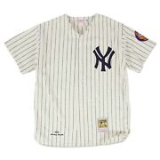 New York Yankees Mickey Mantle 1952 Authentic Home Jersey