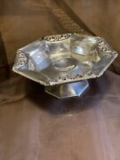 Theo B. Starr Sterling Compote Candy But Dish Footed Antique 7394 925 Silver