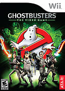 New Factory Sealed Ghostbusters The Video Game Nintendo Wii Free Ship
