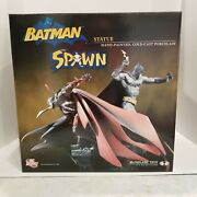 Batman And Spawn Dc Direct Mcfarlane Statue Number 127 Of 1300