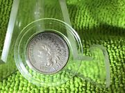 1879 Indian Penny Full Liberty And 2 Diamonds In Airtite