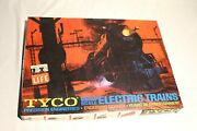 Tyco Train Set Ho Vintage 1950and039s / 1960and039s T6822a-2498 Prr Red Box