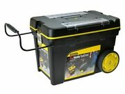 Stanley Sta192902 Professional Mobile Tool Box Chest On Wheels Large Storage Box