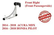 Front Right Lower Control Arm Ball Joint For 2014-2018 Acura Mdx New 14-18 Mdx