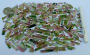 390-carats Top Quality Bi-colors Tourmaline Gemmy Crystals From Paprok Afg🇦🇫